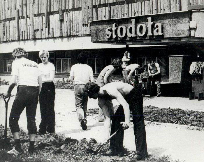 Building of Stodoła - Batorego Street